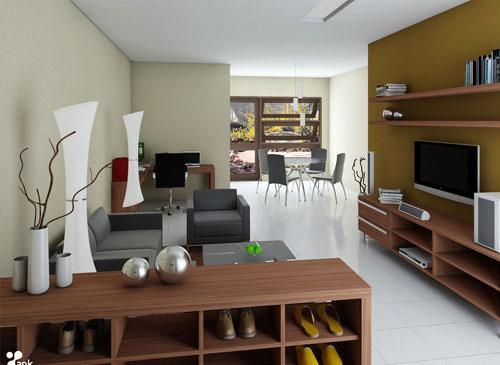 interior minimalis tidak perlu kaku dan dingin desain minimalis modern ...